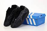 Мужские кроссовки Adidas Yeezy 700 V3 Black, мужские кроссовки адидас изи 700 (41,42 размеры в наличии), фото 2
