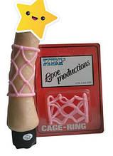 Насадка ерекційна Cage - Ring рожева, від Orion
