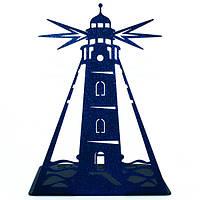 Упор для книг Glozis Lighthouse 16 х 12 см Синий (G-038)
