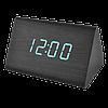 Годинники настільні електронні в дерев'яному корпусі VST-864, фото 8