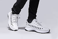 Белые кроссовки, хорошее качество р:42(26.5)см