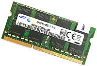 Оперативная память для ноутбука Samsung SODIMM DDR3 8Gb 1600MHz 12800s CL11 (M471B1G73BH0-CK0) Б/У, фото 1