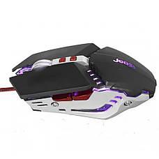 Игровая Компьютерная проводная мышка с подсветкой JEDEL GM-660 + ПОДАРОК: Настенный Фонарик с регулятором, фото 2