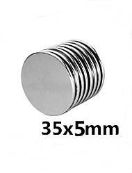 Польский неодимовый магнит 35мм*5мм, 18кг, N42
