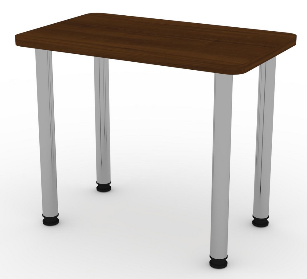 Стол кухонный КС-9 ножки хром