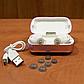 Беспроводные bluetooth наушники TWS s8 5.0 (блютуз гарнитура) (розовые), фото 5