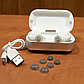 Беспроводные blutooth наушники TWS s8 5.0 (блютуз гарнитура) (белые), фото 9