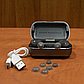 Беспроводные blutooth наушники TWS s8 5.0 (блютуз гарнитура) (серые), фото 5