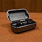 Бездротові blutooth навушники TWS s8 5.0 (блютуз гарнітура) (сірі), фото 3