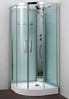 Душевой бокс Appollo 90х90х15 без крыши, низкий поддон, прозрачное стекло, TS-6032S