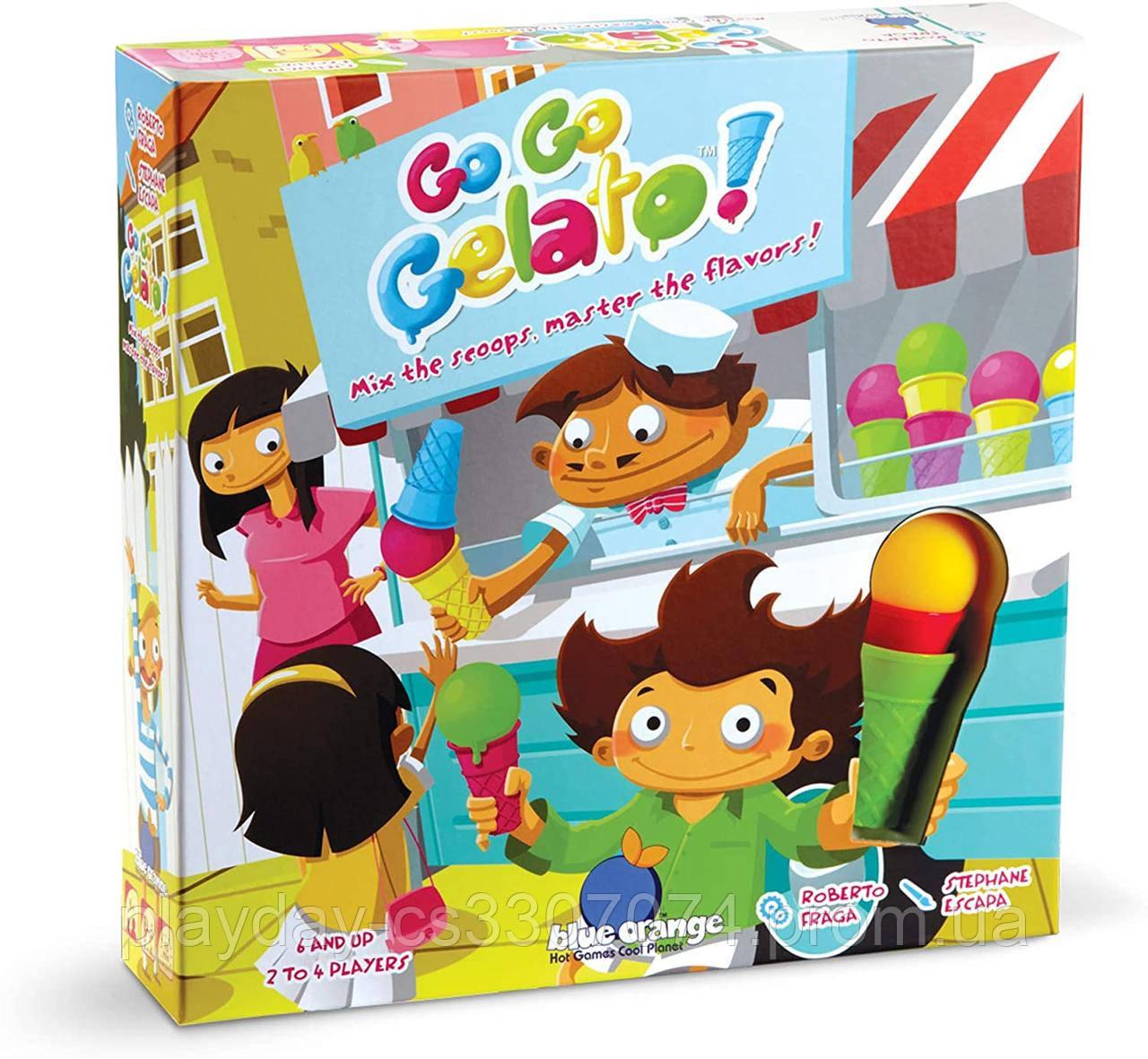 Логическая игра Экспресс-мороженное Go Go Gelato! от Blue Orange