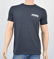 """Мужская футболка """"Премиум"""" Puma(реплика) Серый, фото 1"""