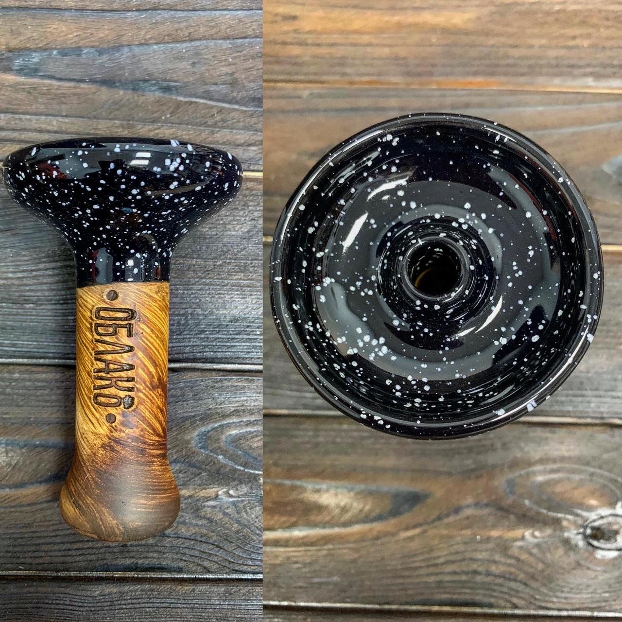 Чаша для кальяна Облако (Oblako) - phunnel m Черный космос