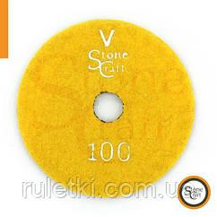 Металізований алмазний шліф коло № 100 d 125 мм ST1