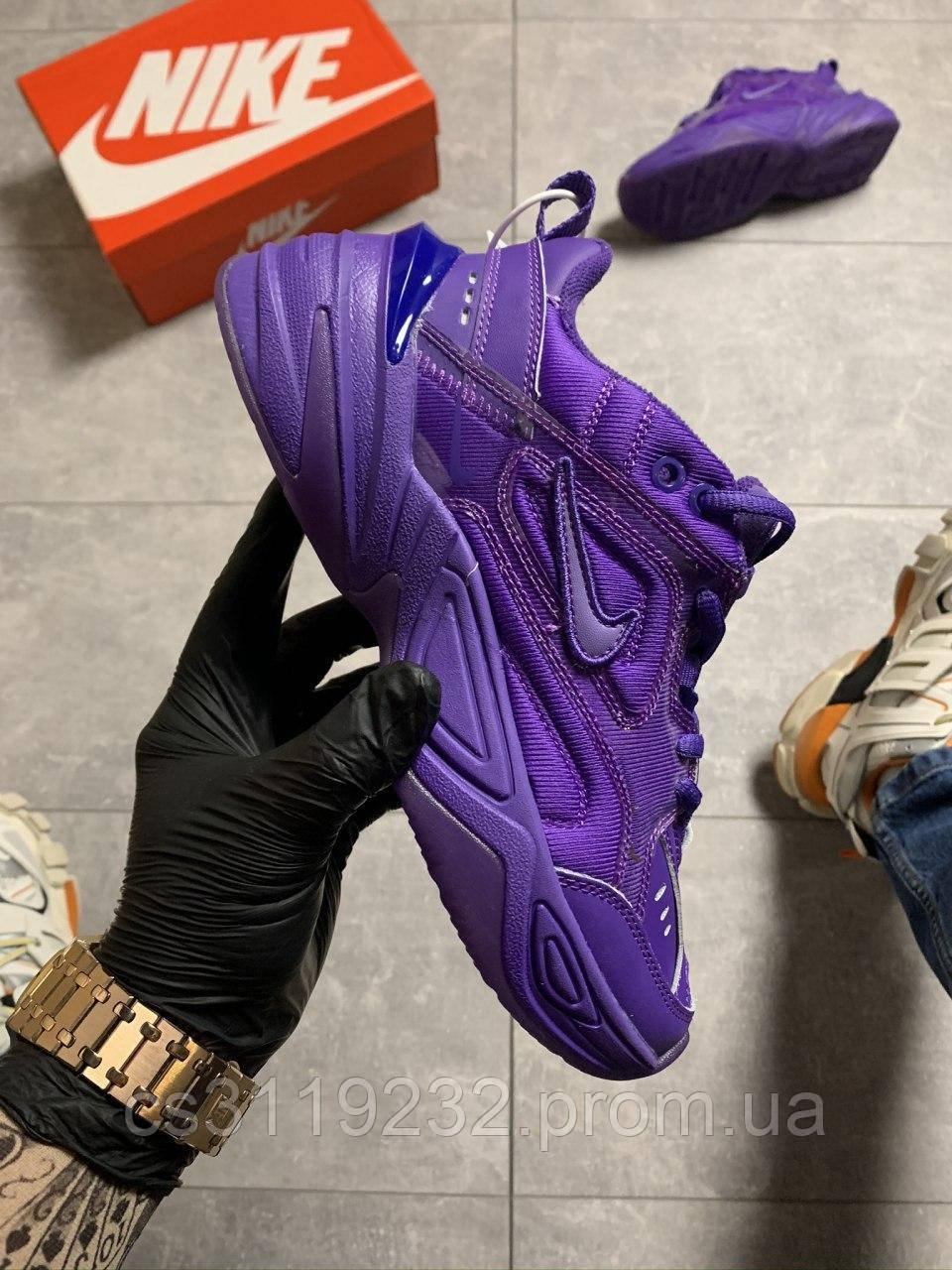 Женские кроссовки  Nike M2K Tekno Violet(фиолетовые)