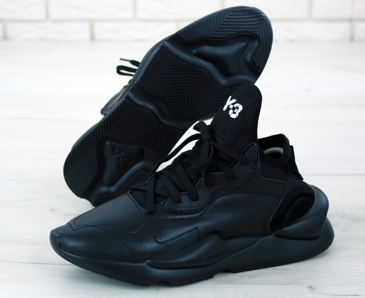 Мужские кроссовки Adidas Y-3 Kaiwa Yohji Yamamoto, чоловічі кросівки Adidas Y-3 Kaiwa Yohji Yamamoto