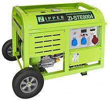 Бензиновый трёхфазный генератор Zipper ZI-STE8004 (8 кВт, 3ф, ел. запуск)