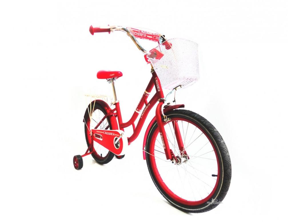 Детский двухколесный велосипед Crosser Eternal 16 дюймов красный