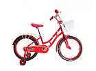 Детский двухколесный велосипед Crosser Eternal 16 дюймов красный, фото 2