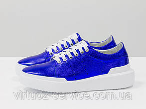Кеды женские Gino Figini Т-17026д-34из натуральной кожи 38 Синий
