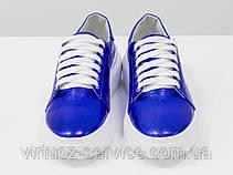 Кеды женские Gino Figini Т-17026д-34 из натуральной кожи 38 Синий, фото 2