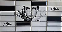 Пластикова листова стінова панель ПВХ Грейс Grace Настрій 0,3мм 955*480 мм