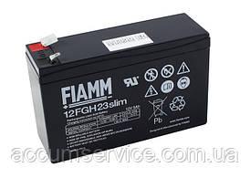 Акумулятор FIAMM 12FGH23 slim - 12V 5Ah