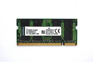 Оперативная память Kingston SODIMM DDR2 1GB 800 MHZ  (KVR800D2S6/1G)