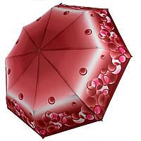 Женский механический зонтик на 8 спиц от SL, красный, 35011-2