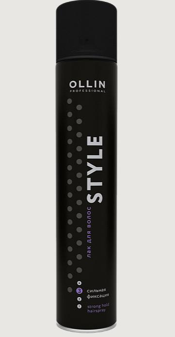 Лак для волосся сильної фіксації 500 мл OLLIN Professional Оллін