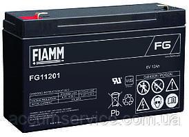 Акумулятор FIAMM FG 11201 - 6V 12Ah
