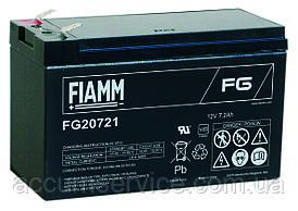Акумулятор FIAMM FG 20721 - 12V 7.2Ah