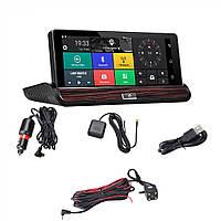 Автомобильный видеорегистратор DVR T9 с GPS и 3G, Android 5.0, Wi-Fi, Bluetooth, с камерой заднего вида