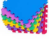 Коврик-пазл EVA , набір 12 шт., 2,40 м2, 50х50 см, т. 10 мм  щільність 80-100 кг/м3 TERMOIZOL®, фото 4