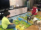 Килимок дитячий Мультфільм, т. 8 мм, хім зшитий пінополіетилен, 120х300 см. Виробник Україна, TERMOIZOL®, фото 7
