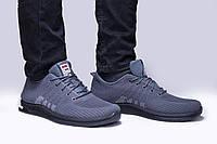 Мужские кроссовки Fila, серые, хорошее качество 45(28)см