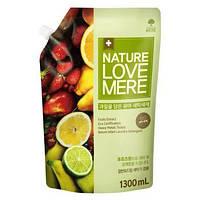 Гель для стирки детской одежды с экстрактом фруктов, Nature Love Mere 1,3 л