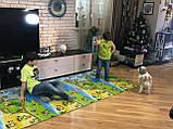 Килимок дитячий Мультфільм, т. 11 мм, хім зшитий пінополіетилен, 120х300 см. Виробник Україна, TERMOIZOL®, фото 6