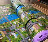 """Килимок дитячий """"паркове місто"""", т. 8 мм, хім зшитий пінополіетилен, 120х250 см. Виробник Україна, TERMOIZOL®, фото 5"""