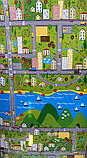"""Килимок дитячий """"паркове місто"""", т. 8 мм, хім зшитий пінополіетилен, 120х250 см. Виробник Україна, TERMOIZOL®, фото 6"""