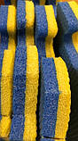 Коврик-пазл,  татамі ластівчин хвіст, 50х50 см, т. 20 мм пінополіетилен щільність 33 кг/м3, TERMOIZOL®, фото 2