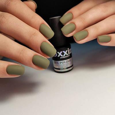 Гель-лак Oxxi № 061 (оливковый, эмаль) 8 мл
