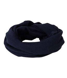 Повседневный свернутый шарф  MDDE Темный Деним