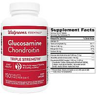 Walgreens, Глюкозамин, Хондроитин и MCM, 150 таблеток