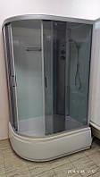 Душевой бокс Aqualife Dream 3 120х80х40 правый, тонированное стекло, глубокий поддон
