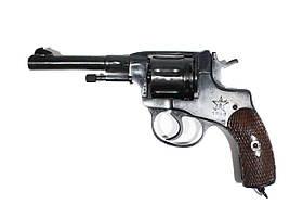 Наган Гром 4мм 1940г (Револьвер системы Наган под патрон флобера)