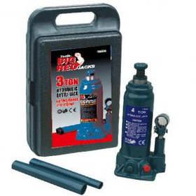 Домкрат пляшковий гідравлічний 3т, 372мм в кейсі Torin T90304S
