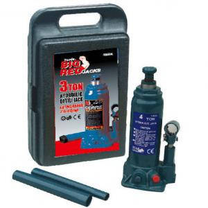 Домкрат бутылочный гидравлический 3т, 372мм в кейсе Torin T90304S, фото 2