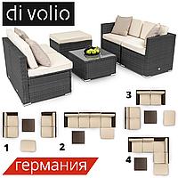 Набор садовой мебели Di Volio MODENA Black