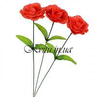 Роза красная на ножке, 40см